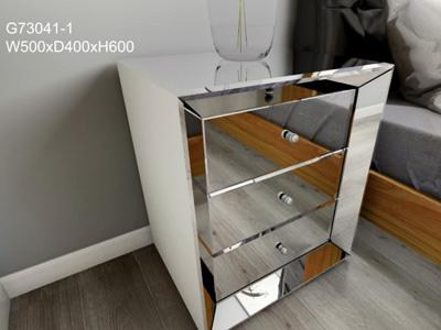 Table de chevet miroir G73041-1